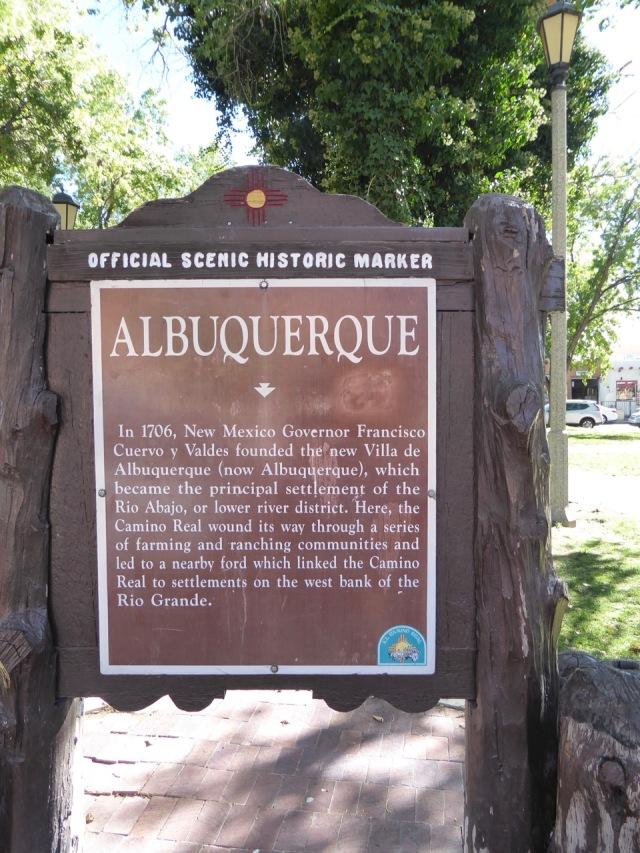 Albuquerque Marker