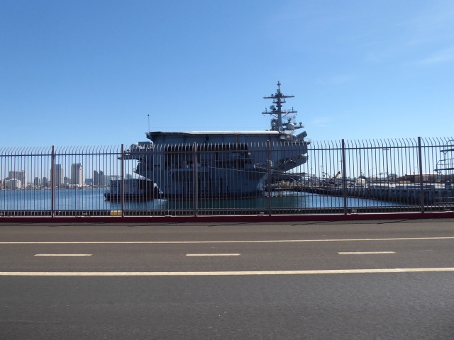 Berthed Carrier