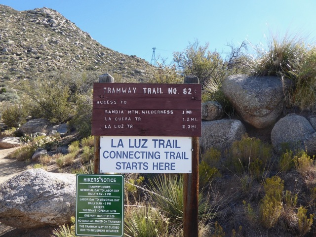 Hiking the Tramway Trail