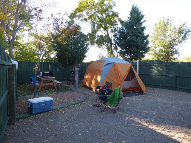 KOA Tent Site