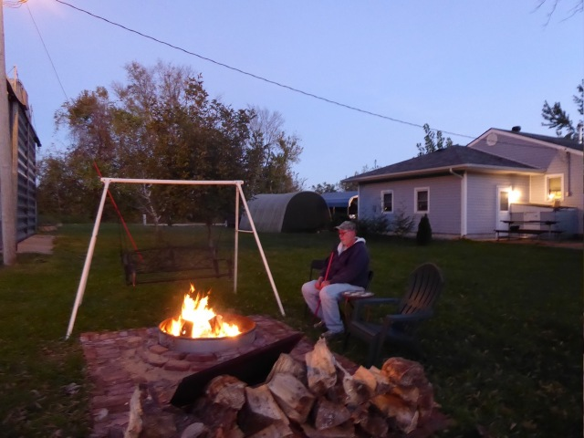 Bill and his Campfire