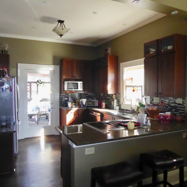 Kitchen at 49 Waverly