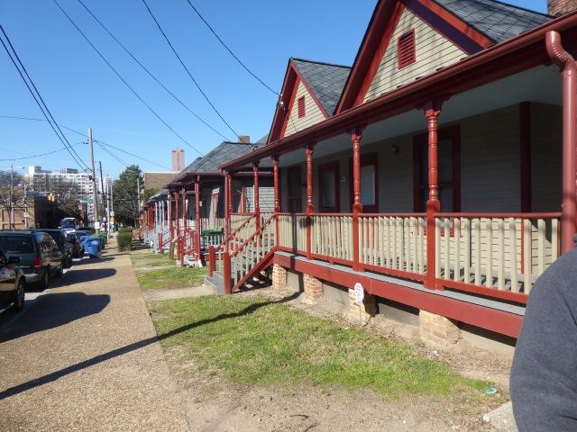 Row of Shotgun Homes