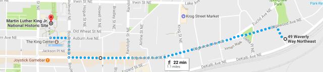 Walk to MLK