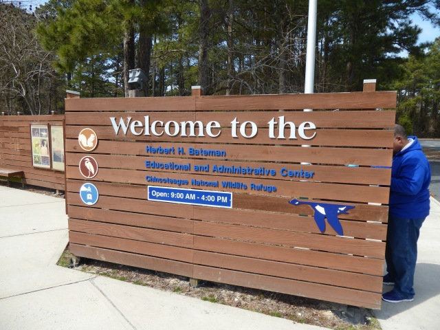Visitor Center Sign