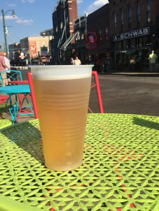 A Big Ass Beer on Beale St