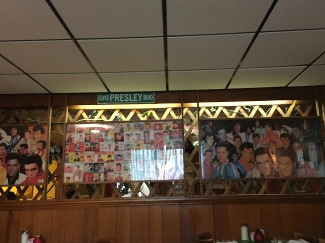 Elvis Wall at Colettas Italtian Restaurant