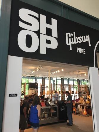 Gibson Factory Gift Shop