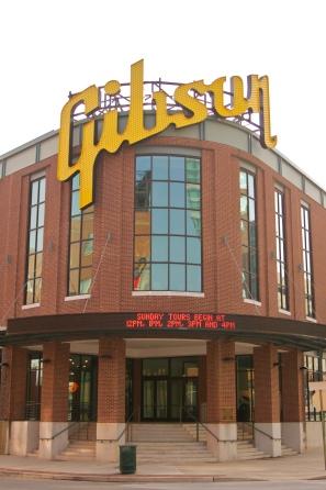 Gibson Factory Exterior