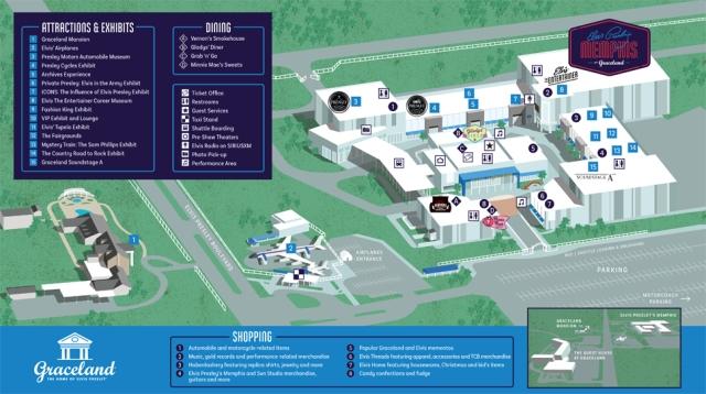 Graceland Map