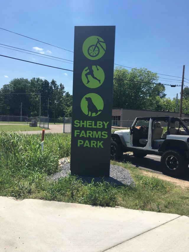 Shelby Farms Greenline Sign