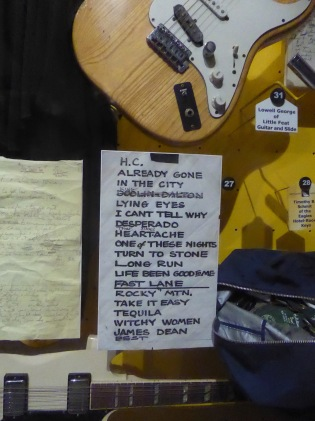 Eagles Set List