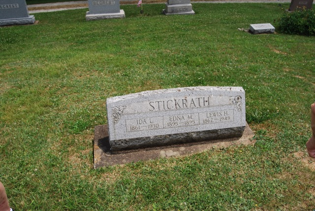 Great Grandpa Stickrath