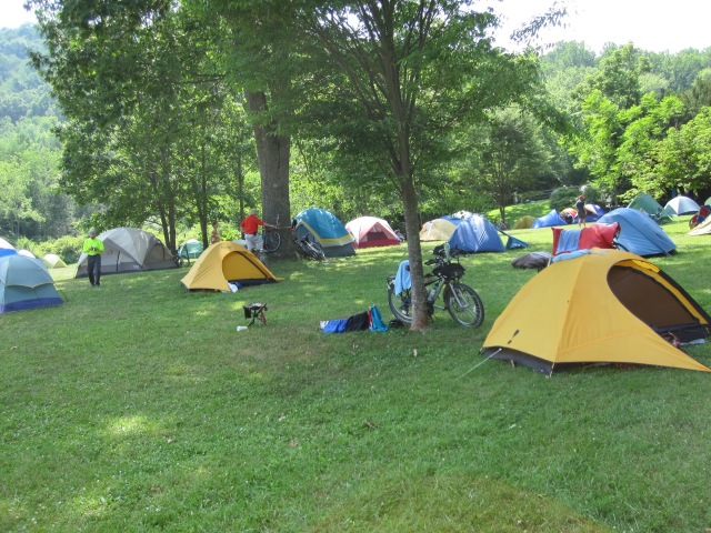 Camping in Confluence