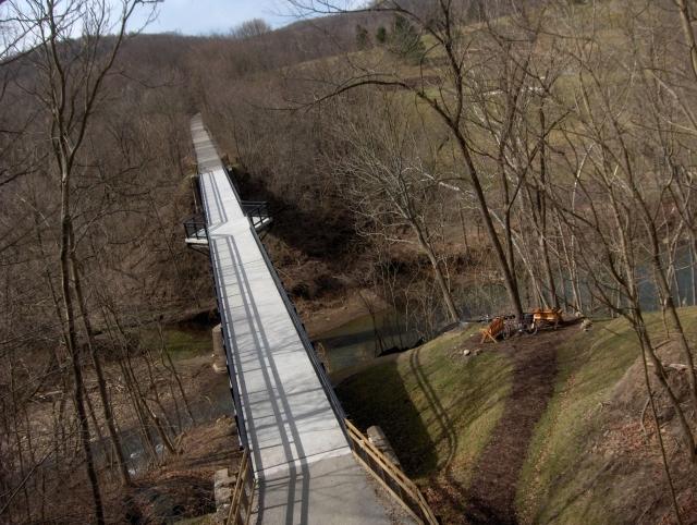 montour trail bridge