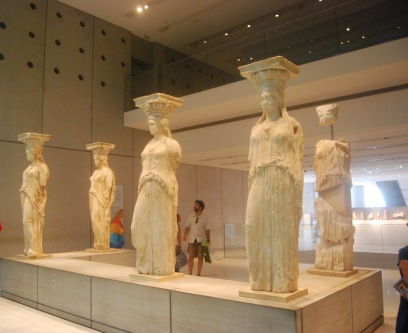 Caryatids from the Erchtheion