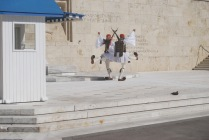 Guards Saluting