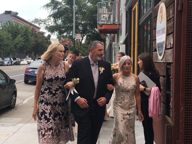 Parents Walking In