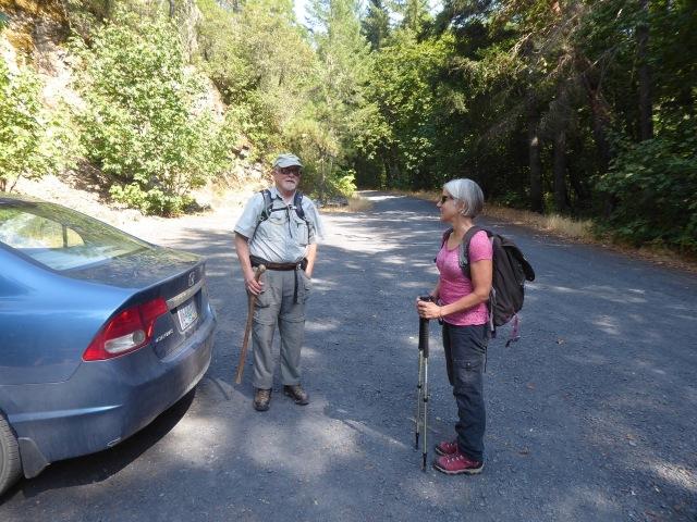 Preparing to Hike Water Creek