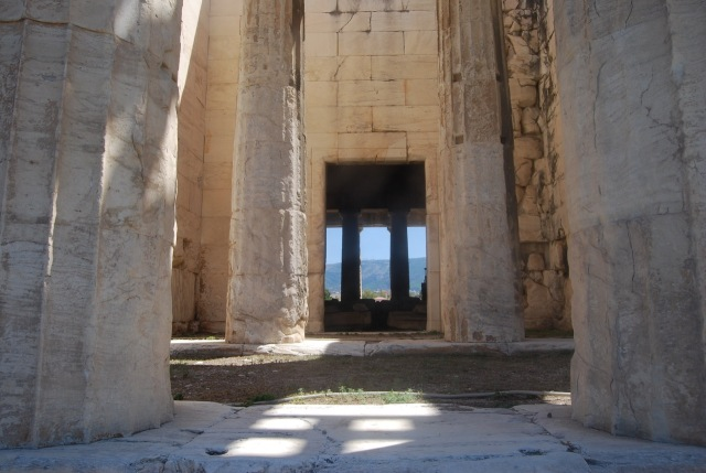 Temple of Hephaistos - Interior