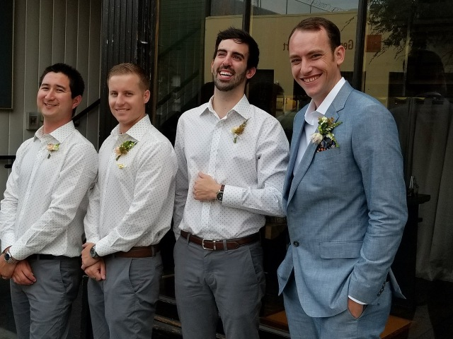 The Groom and his Gang