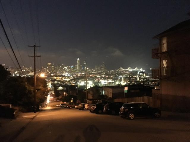 View from Potrero House