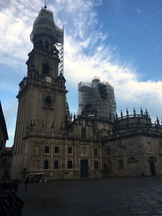 Cathedral and Scaffolds