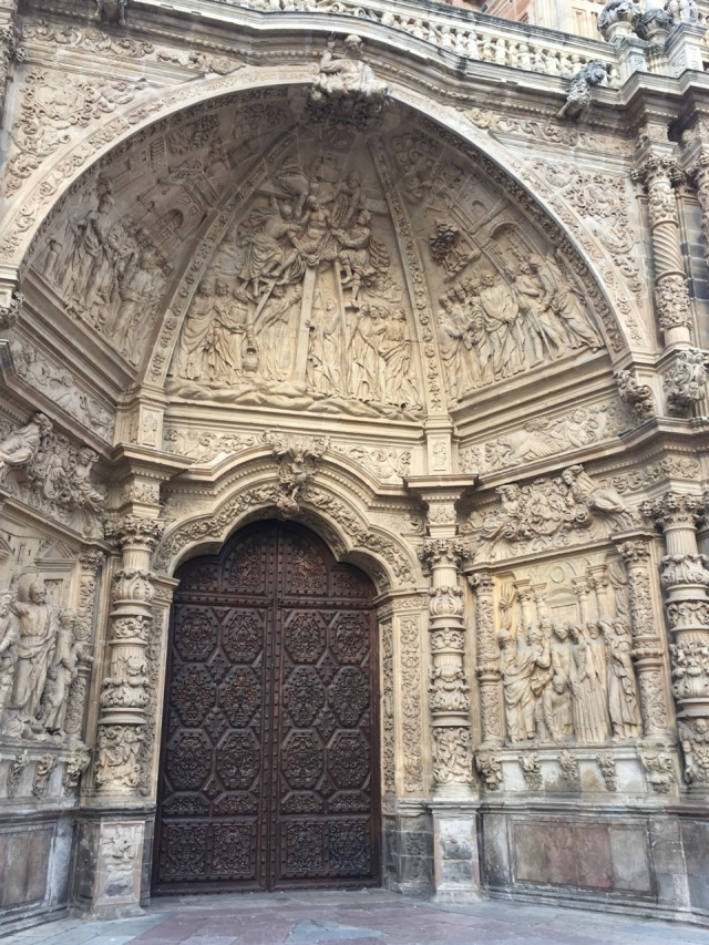 Astorga Cathedral Entrance