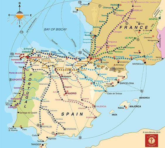 Camino Routes
