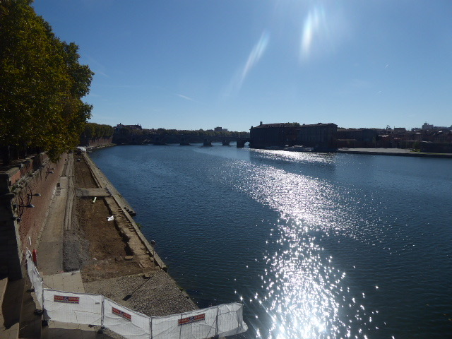 La Garonne River