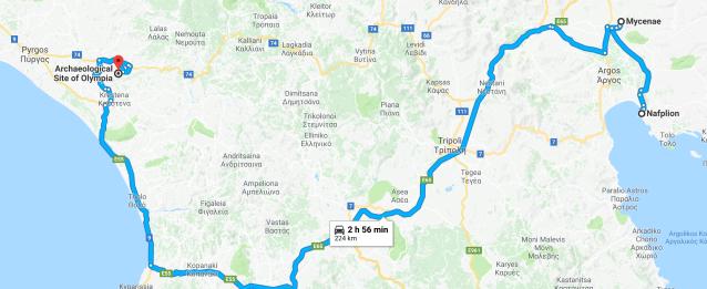 Napflion to Olympia