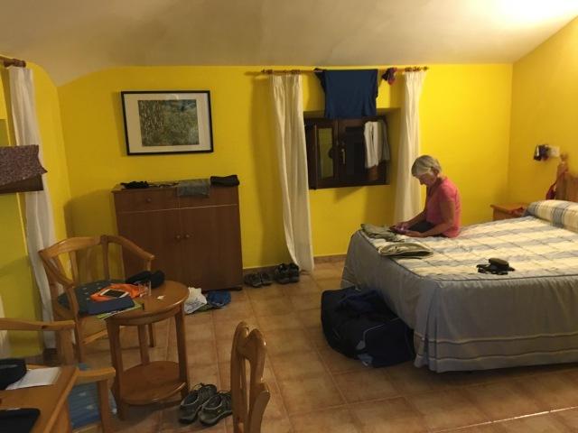 Our Room in Carrion de Los Condes