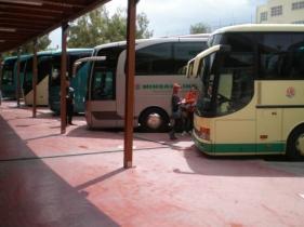 Bus Terminal Bays