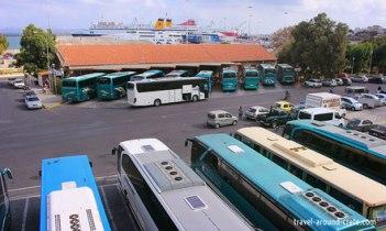 Bus Terminal at Heraklion