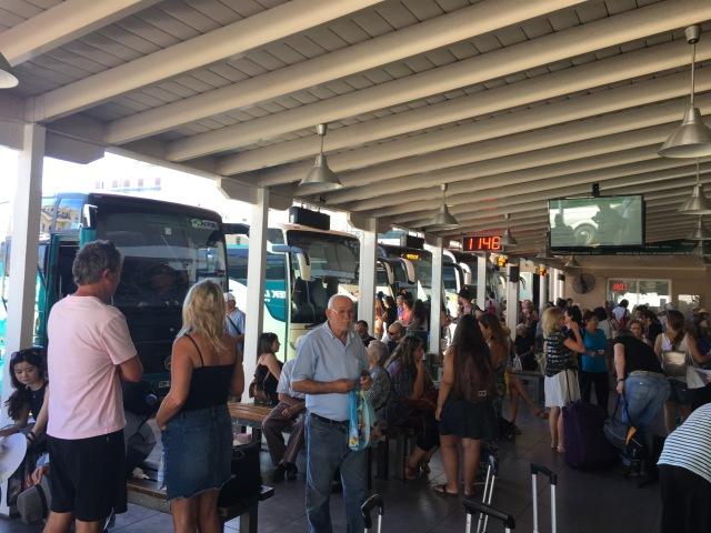 Mob at the Terminal