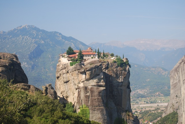 Monastery Close Up