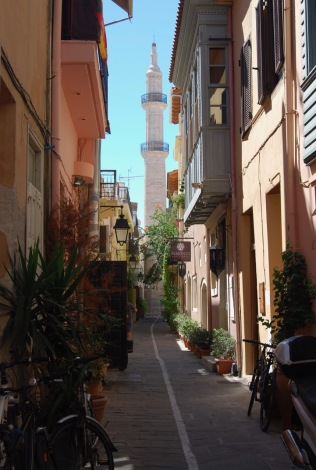 Narrow Streets of Town