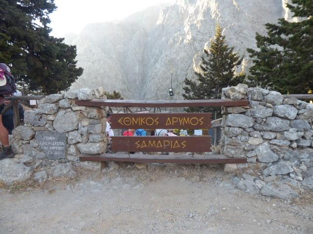 Samaria Gorge Trailhead