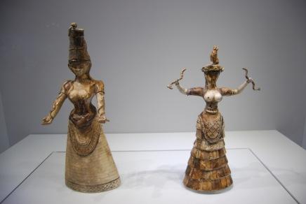 Snake Goddess on the Right