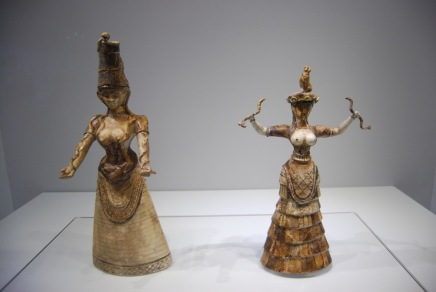 Snake Goddess on the Right