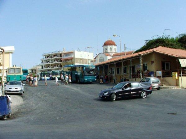 Terminal at Rethimno