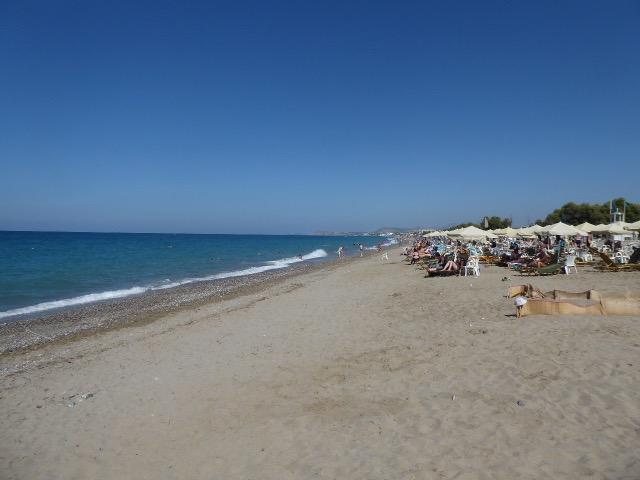 The Beach at Rethimno