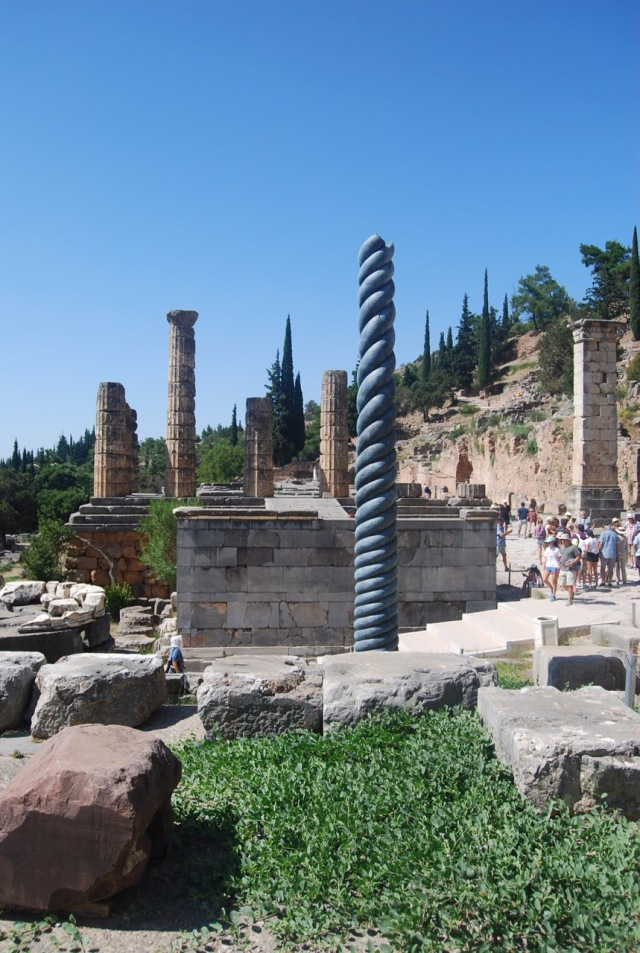 The Tripod of Plataea and the Temple of Apollo