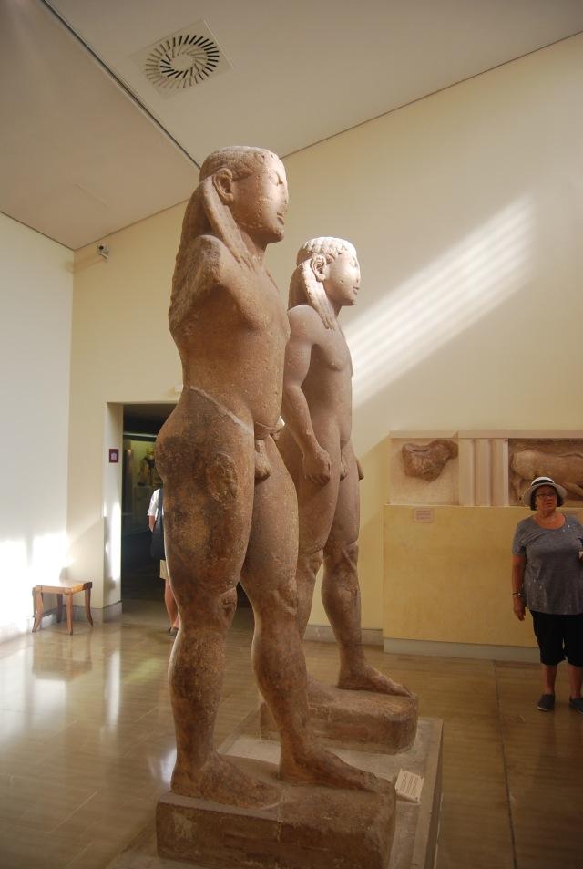 The Twins of Argos - Kouros