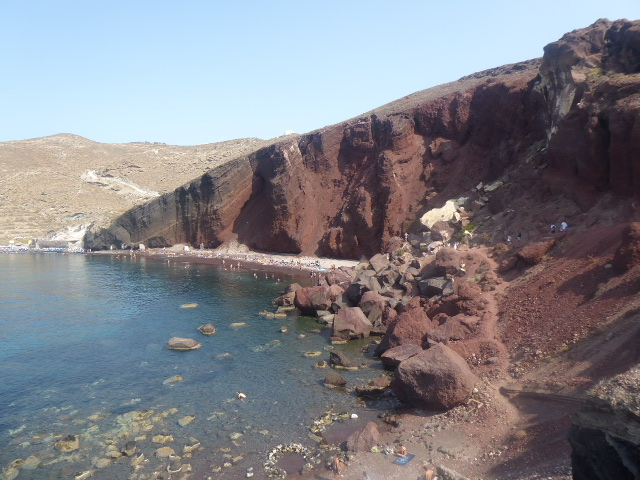 Beach near Akrotiri