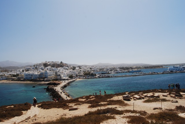 Naxos in the Distance