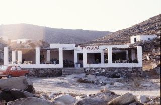 Taverna at Kalimbitres - 1979