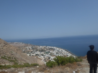 View from Thera to the East