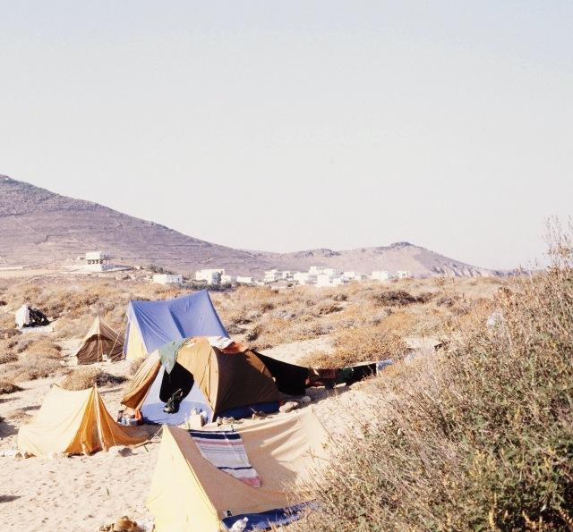 Wild Camping Piso Livadi