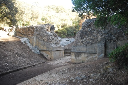 Broken Section of Aqueduct